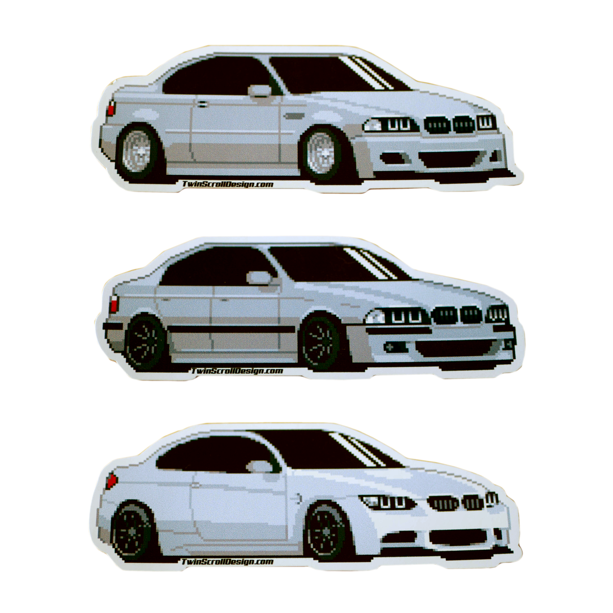 Image of e46 // e39 // e92 sticker pack