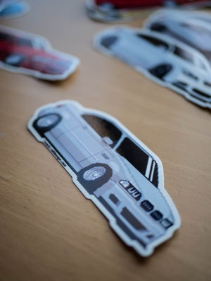 Image of e46 // e39 // e92 sticker pack