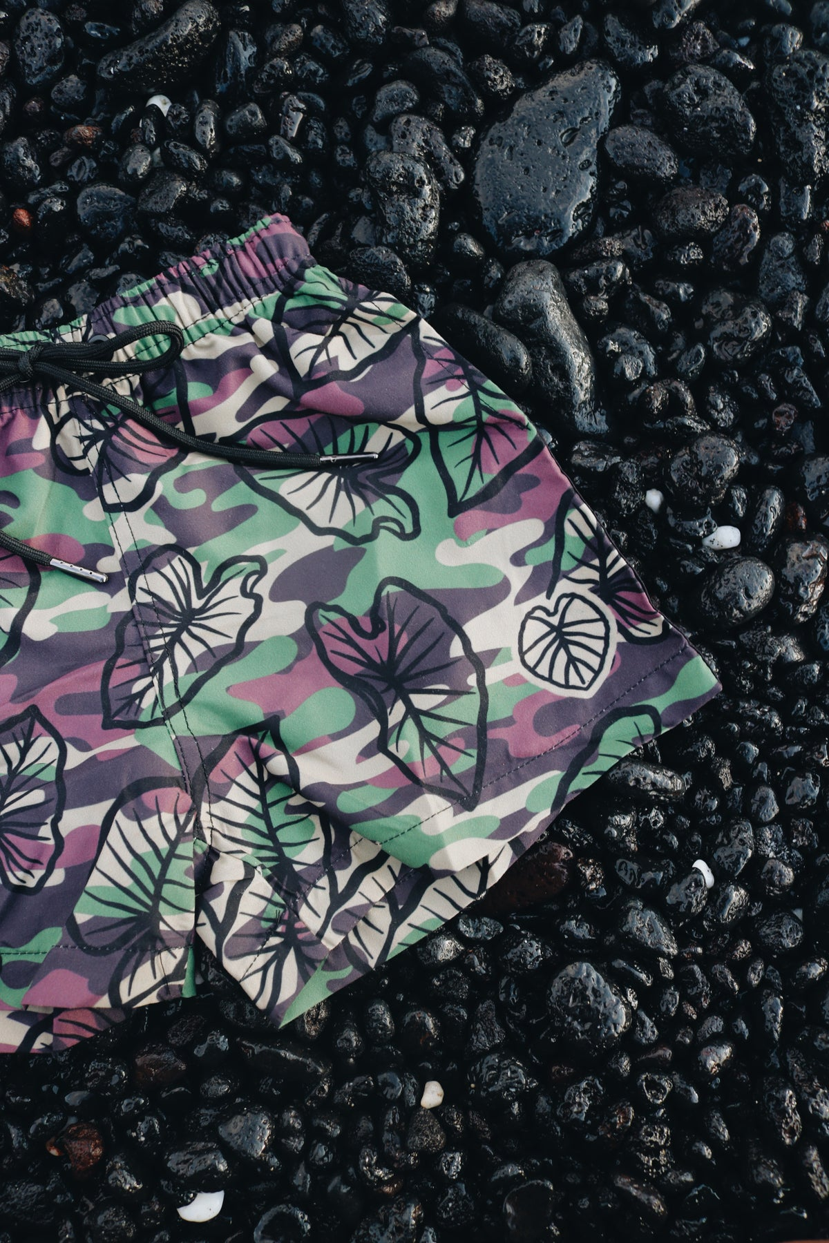 Image of Keola - Boys Board Shorts ~ HALOA CAMO