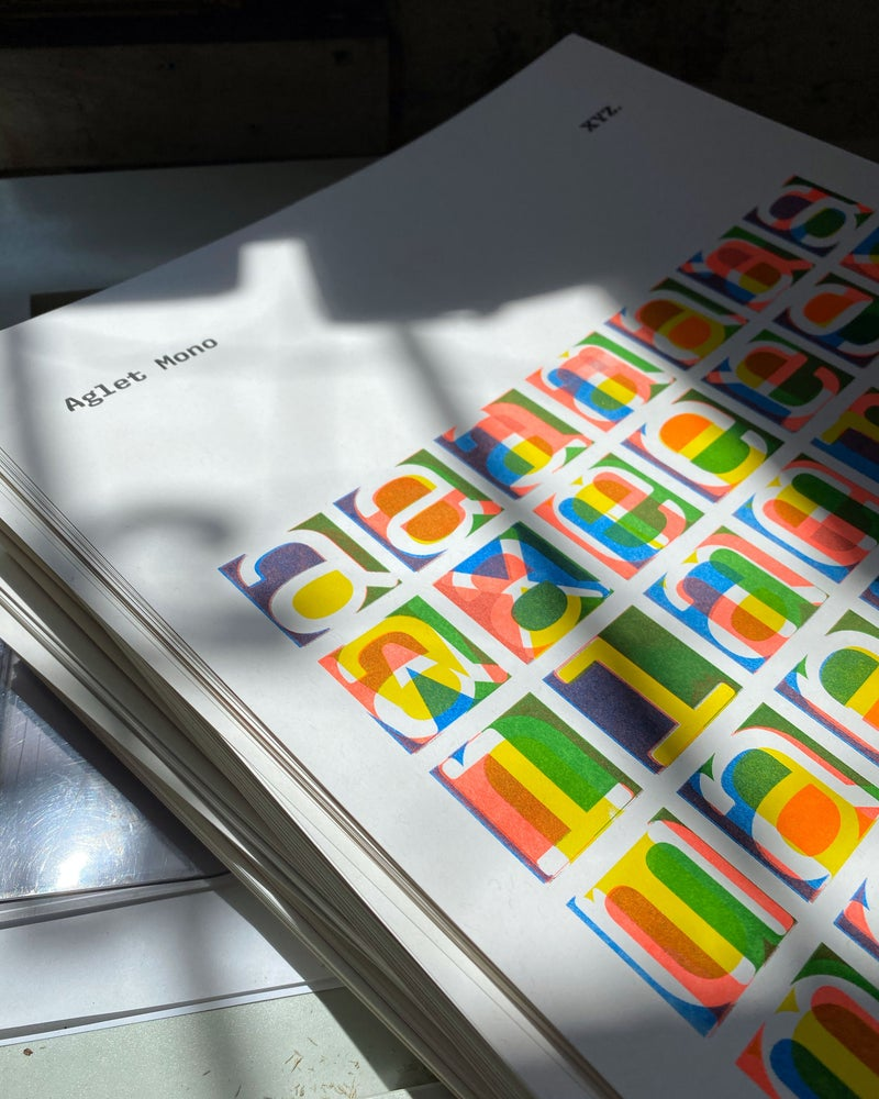 Image of Aglet Mono print