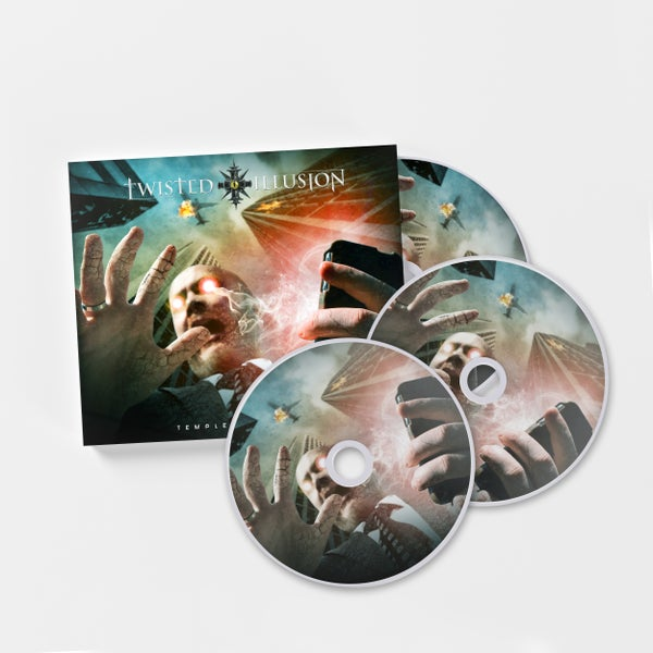 Image of Temple of Artifice 3 Disc Deluxe Edition CD (Limited to 100 copies)