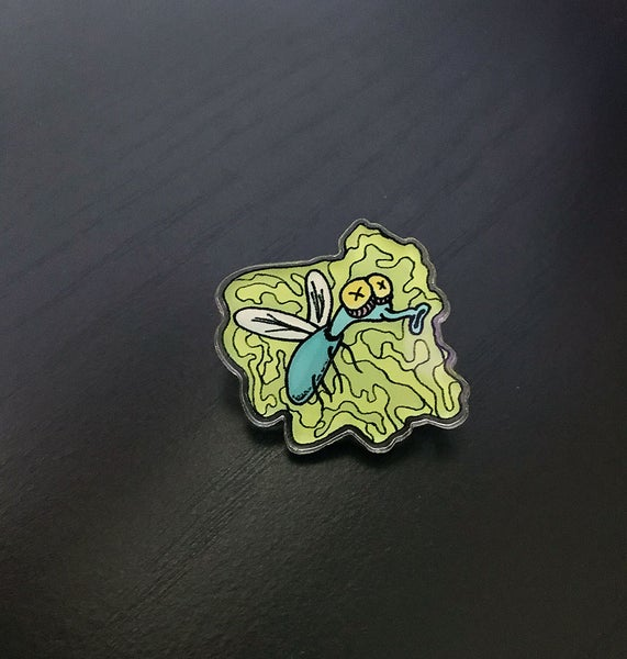 Image of Stink Fly Pin