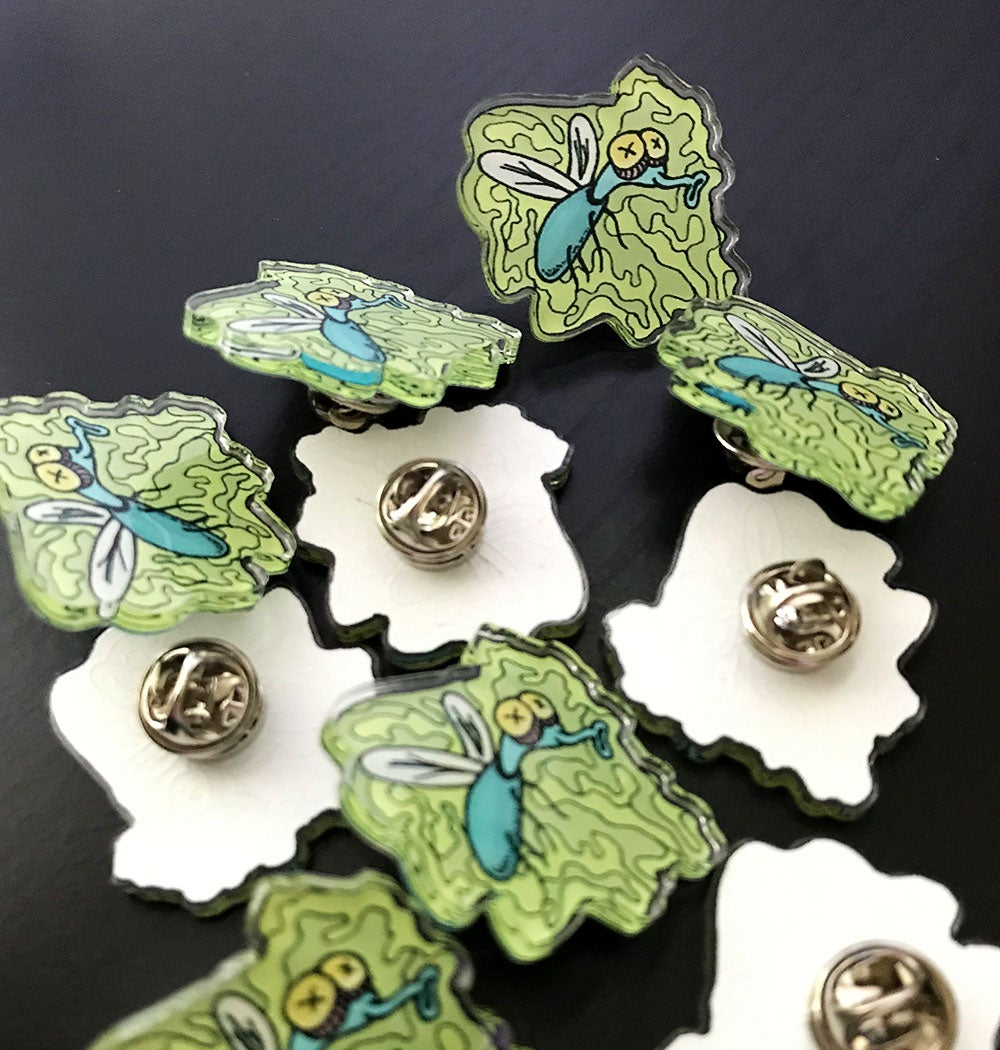Stink Fly Pin