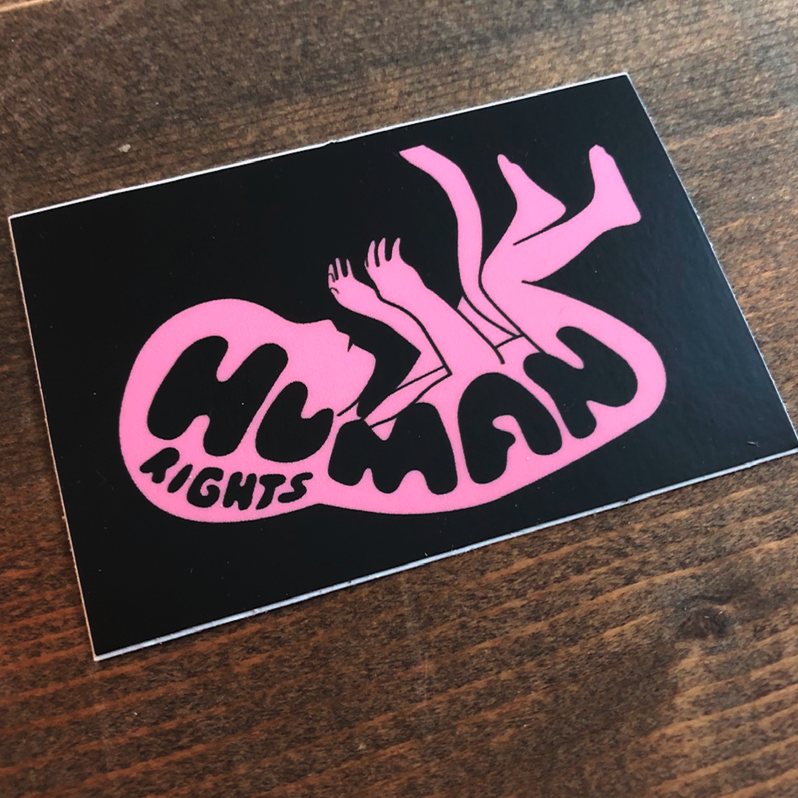 Image of  HUMAN RIGHTS // STICKER