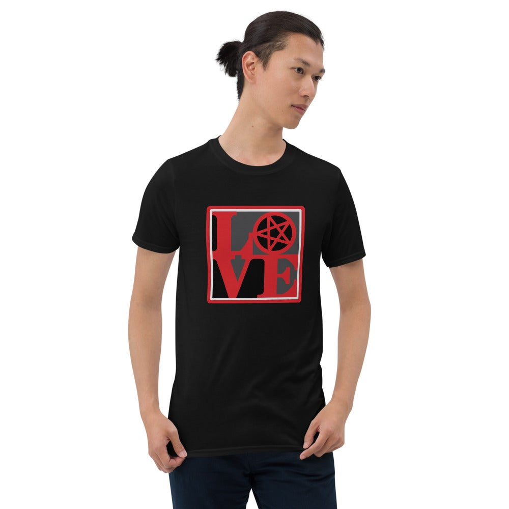 AshemaDeva LOVE Pentagram Unisex T-Shirt