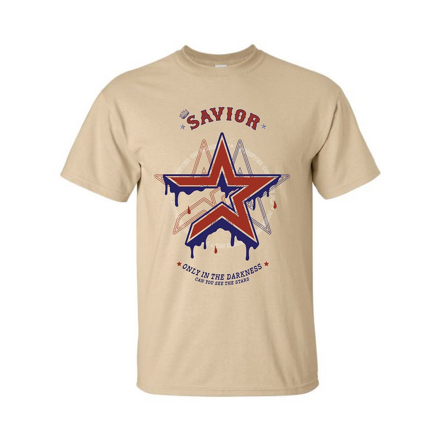 Image of ( 72 HOURS ONLY ) THE SAVIOR ASTROS TEE TAN PREORDER