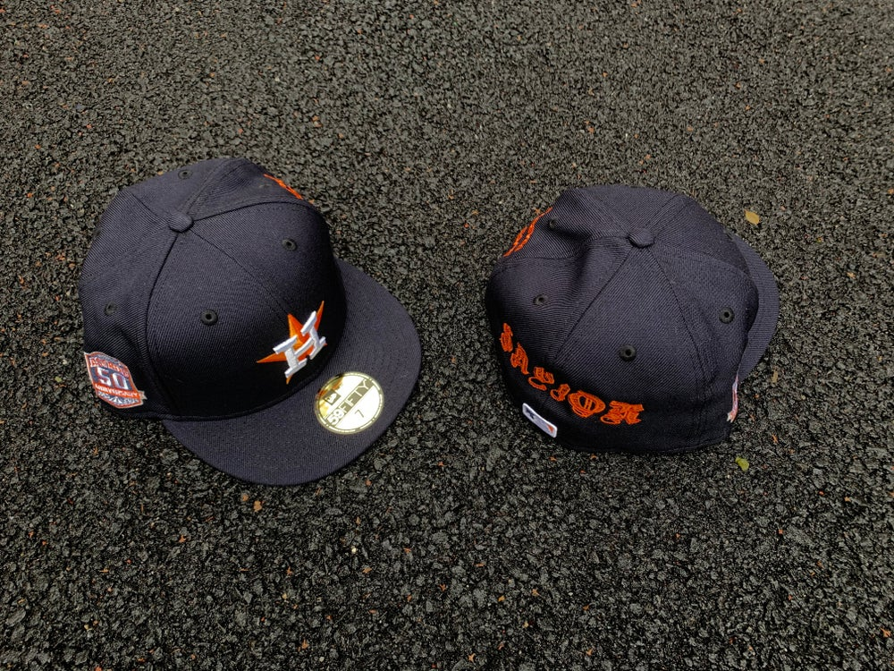 Image of THE SAVIOR ASTROS NAVY 5950 GREY BRIM