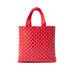 Image of OriginalFani®design Leather Fan-dana™ Tote Bag (Red)