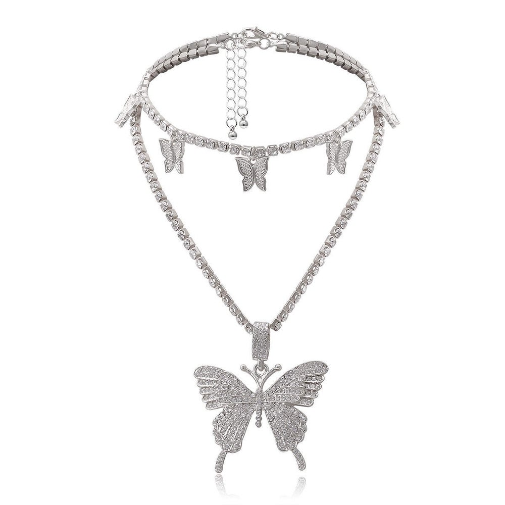 Image of Mariposa 2 piece necklace set
