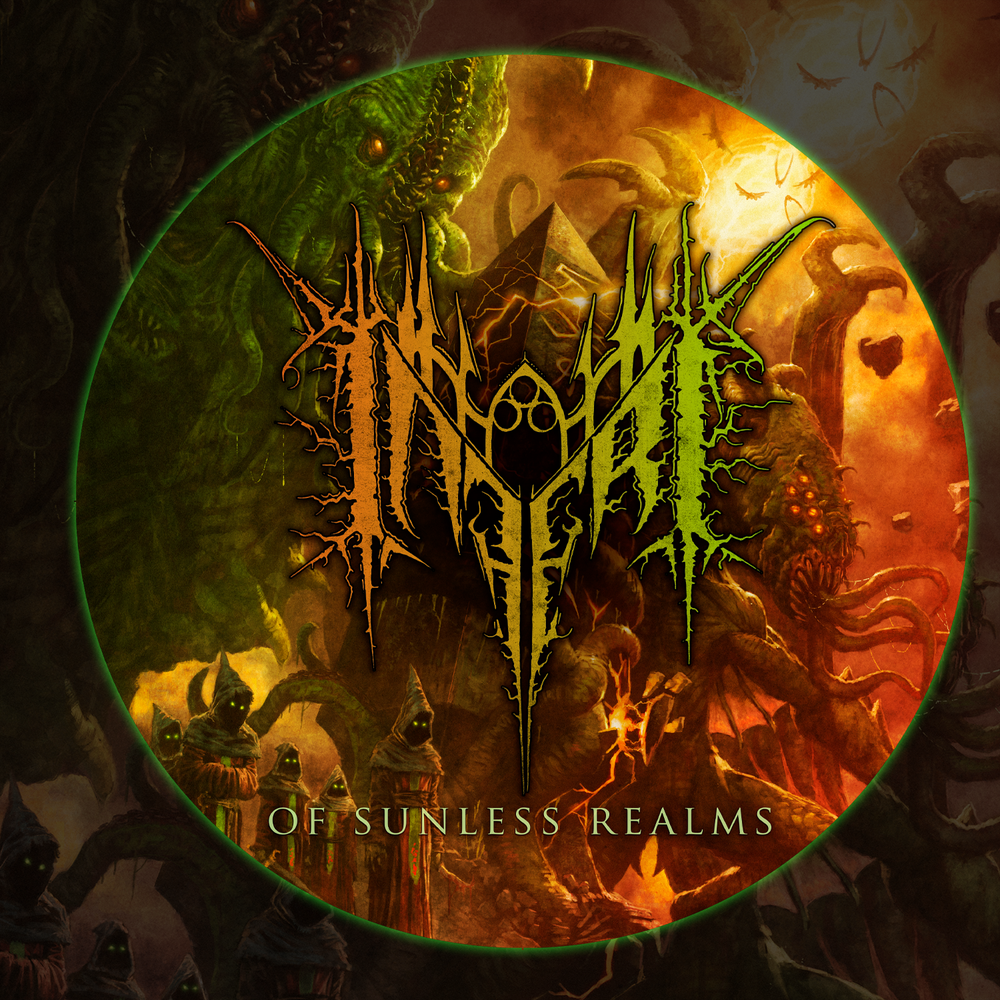 Image of INFERI - Of Sunless Realms - Turntable Slipmat
