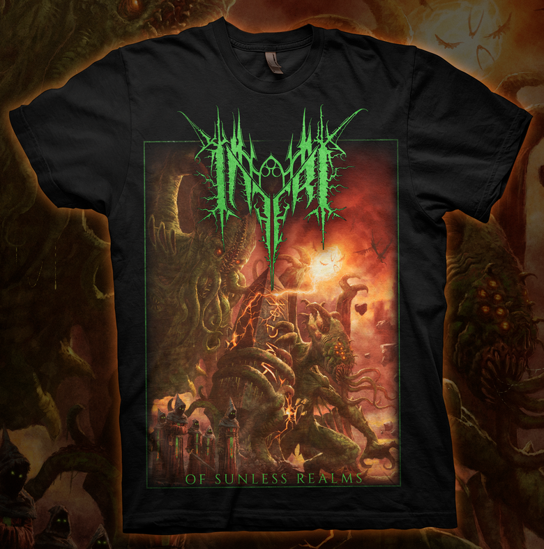 Image of INFERI - Of Sunless Realms - T-shirt