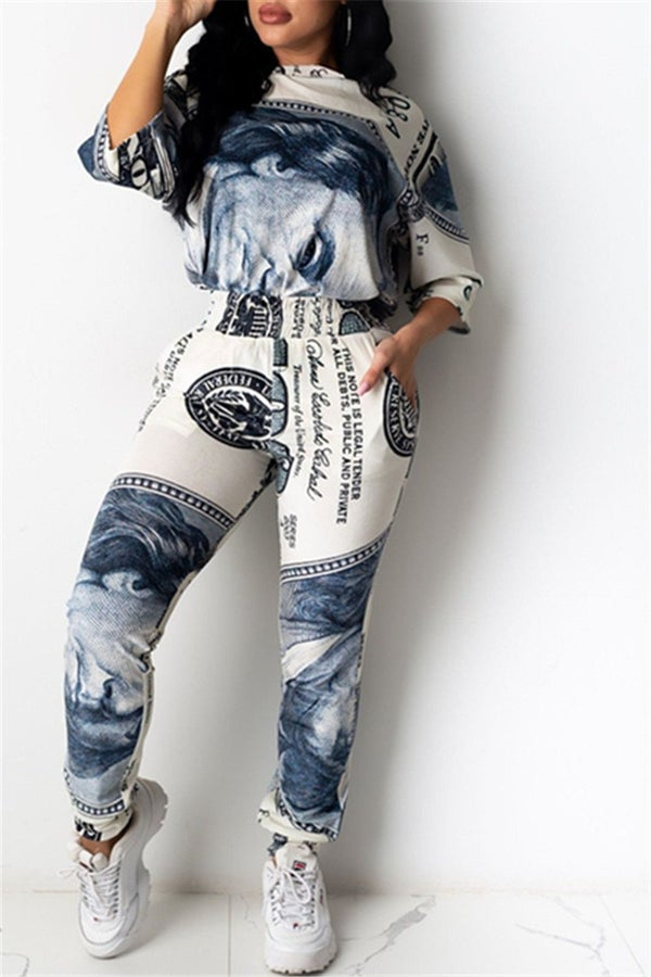 Image of Money Leggings Set