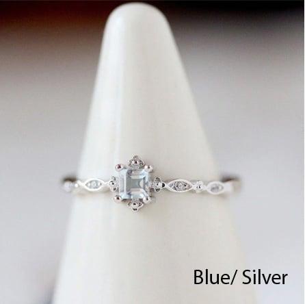 Image of Pretty Petite Gemstone Rings {5 Styles}