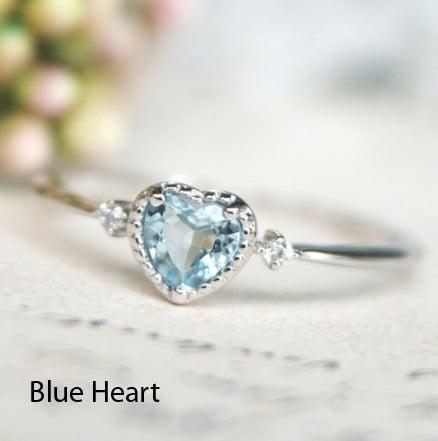 Image of Pretty Petite Gemstone Rings 2 {5 Styles}