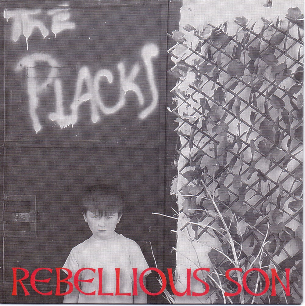 "The Placks - Rebellious Son - Red vinyl 7"" single (RECOMMENDED BY CHARLIE) MONIES TO NHS CHARITY"