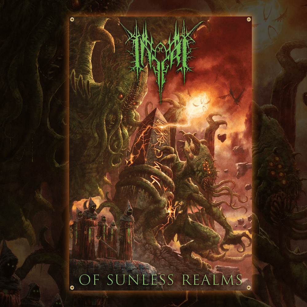 Image of INFERI - Of Sunless Realms - Wall Flag