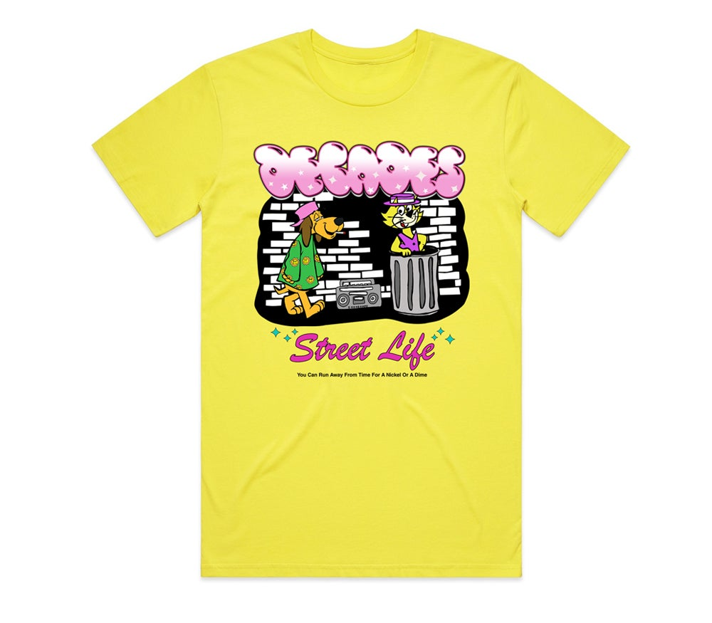 Image of Street Life Tee Yellow