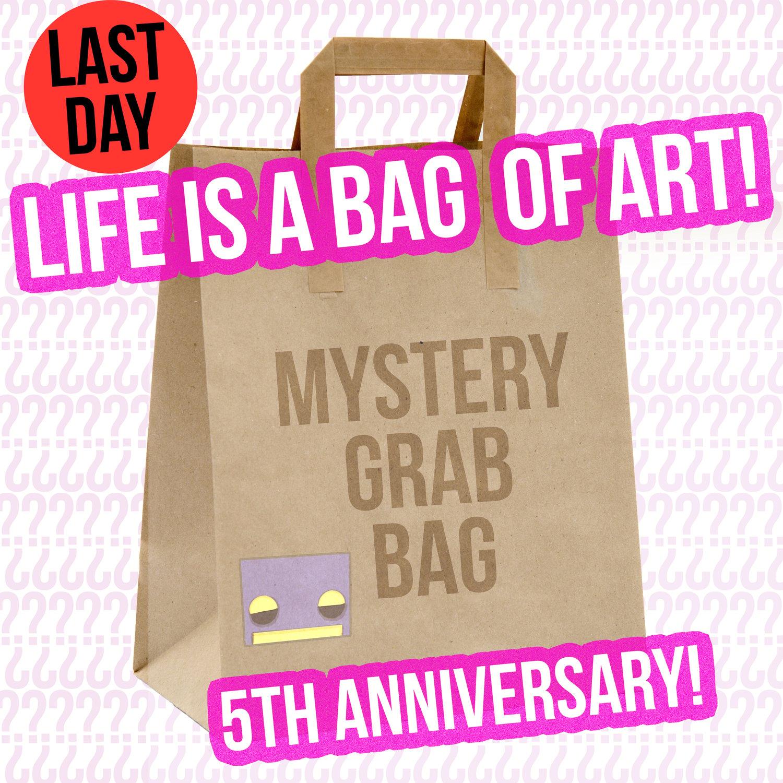 "Image of ""Life is a Bag of Art"" Grab Bag Art Sale!"