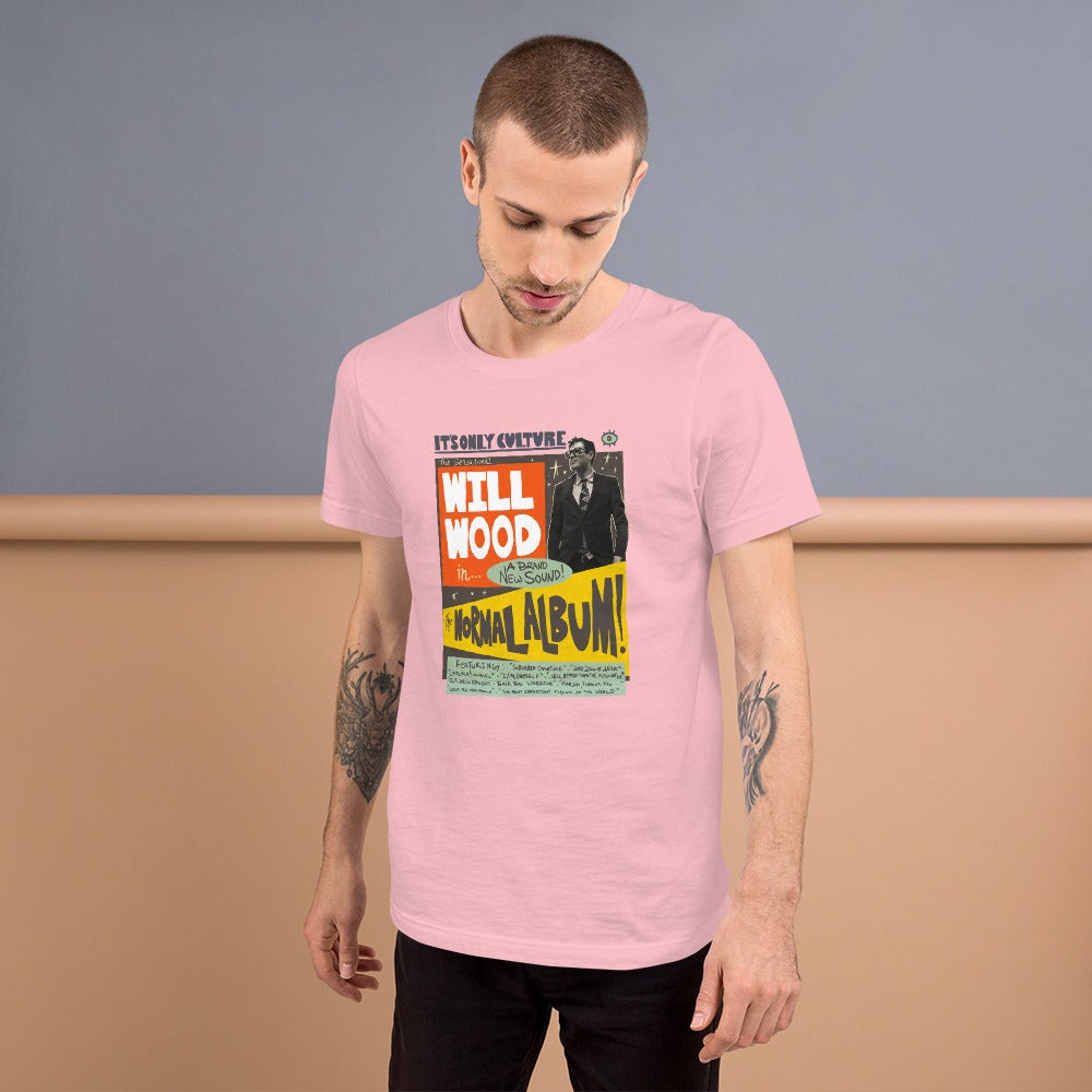 The Normal Album Retro Tee (Pink or Blue)