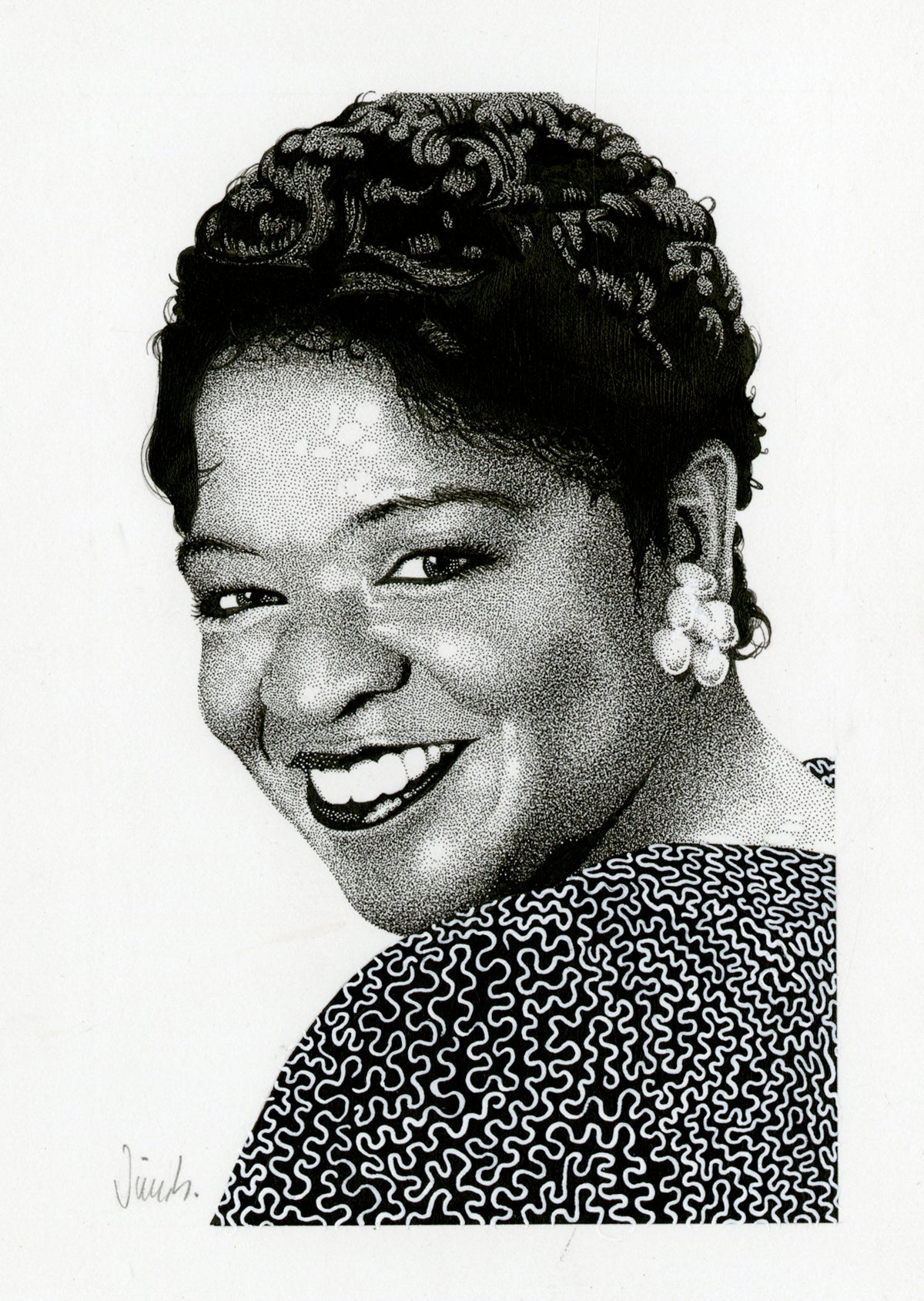 Image of NELL CARTER ink original
