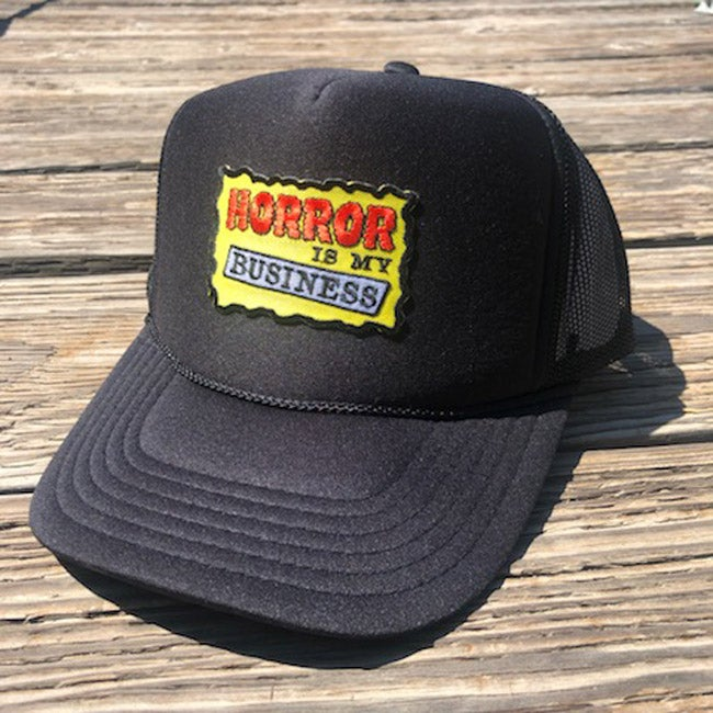 Image of Horror is My Business Trucker Cap