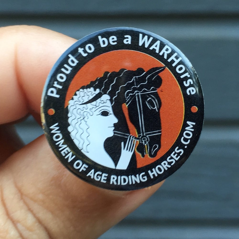 Image of Proud to be a WARHorse Lapel Pin