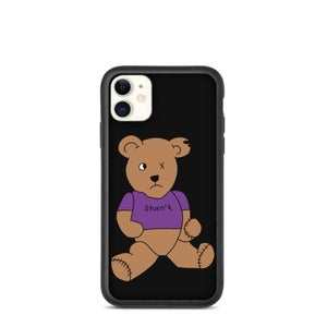 Image of Benny The Bear Biodegradable Phone Case for iPhone
