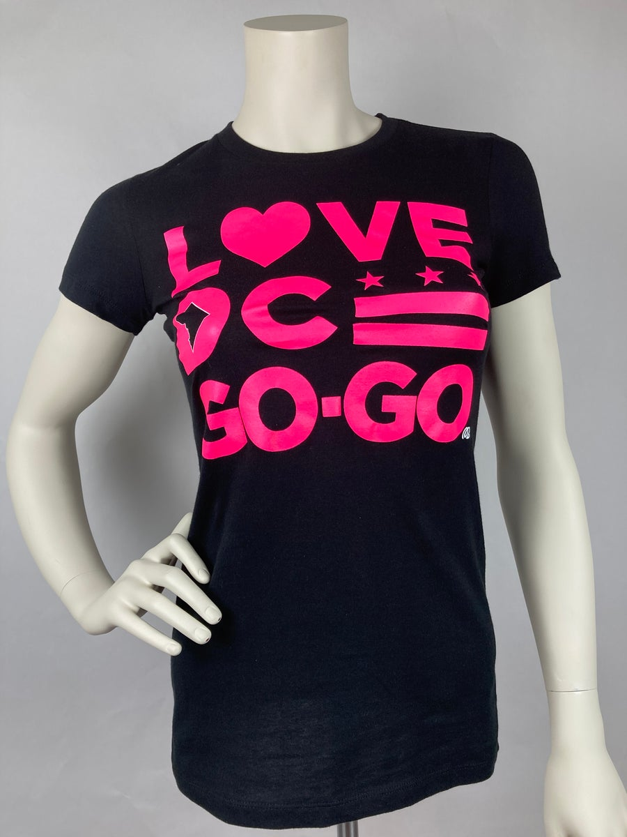 Image of Love DC GoGo - Ladies Hi Pink