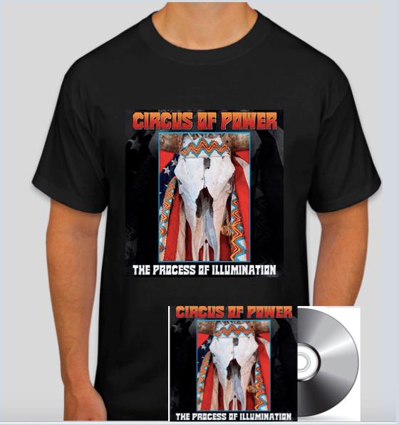 Image of The Process Of Illumination CDEP (PREORDER) + T-Shirt BUNDLE