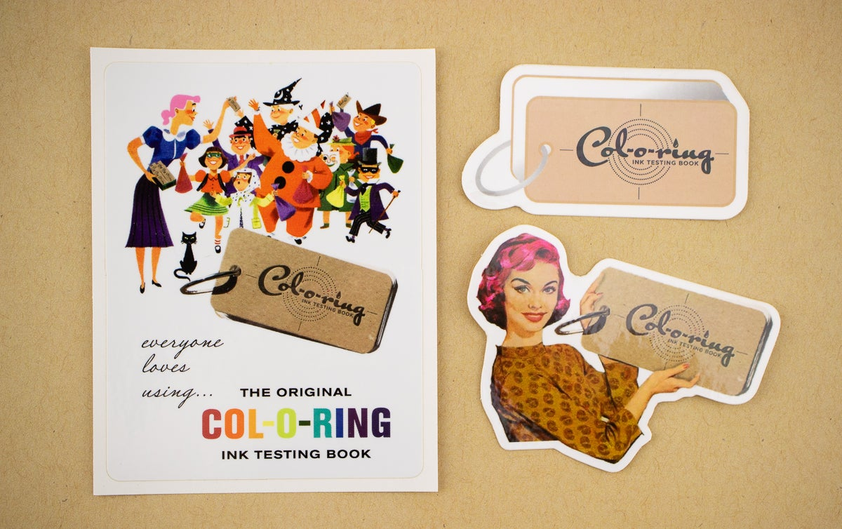 Col-o-ring Sticker Pack (Set of 3)