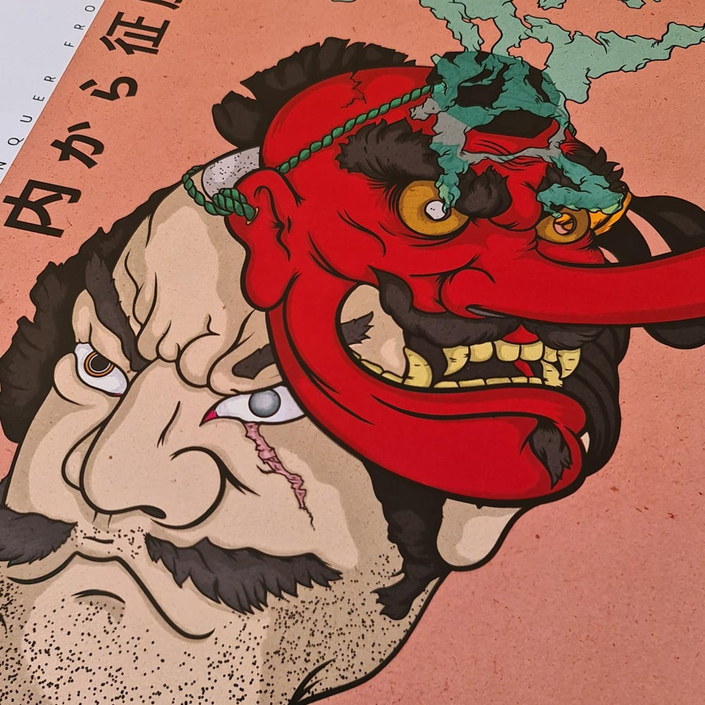 Image of Samurai Tengu Mask
