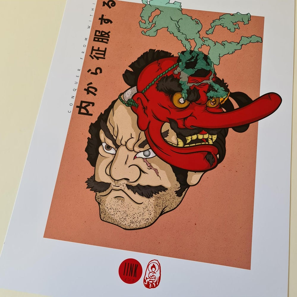 Samurai Tengu Mask