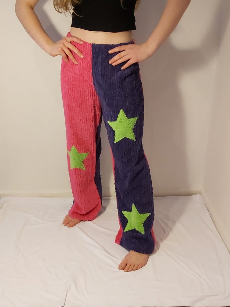 Image of Chenille pants with stars