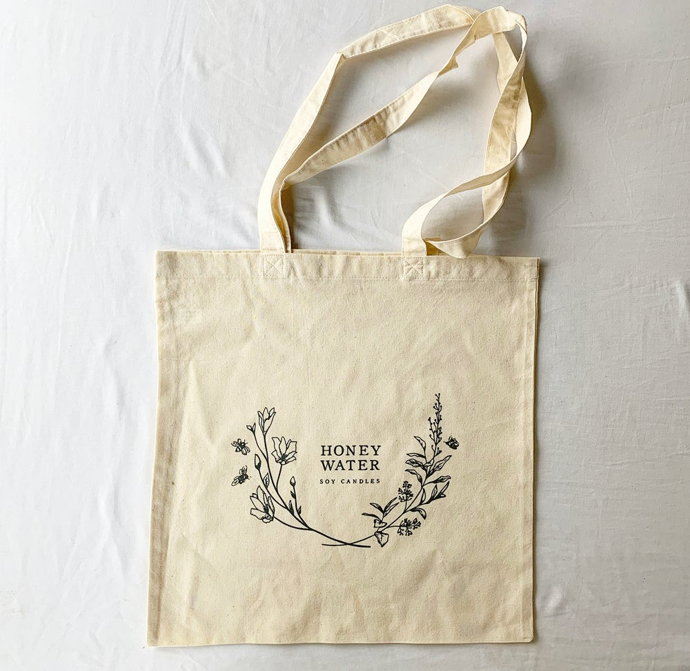 Image of cotton market tote