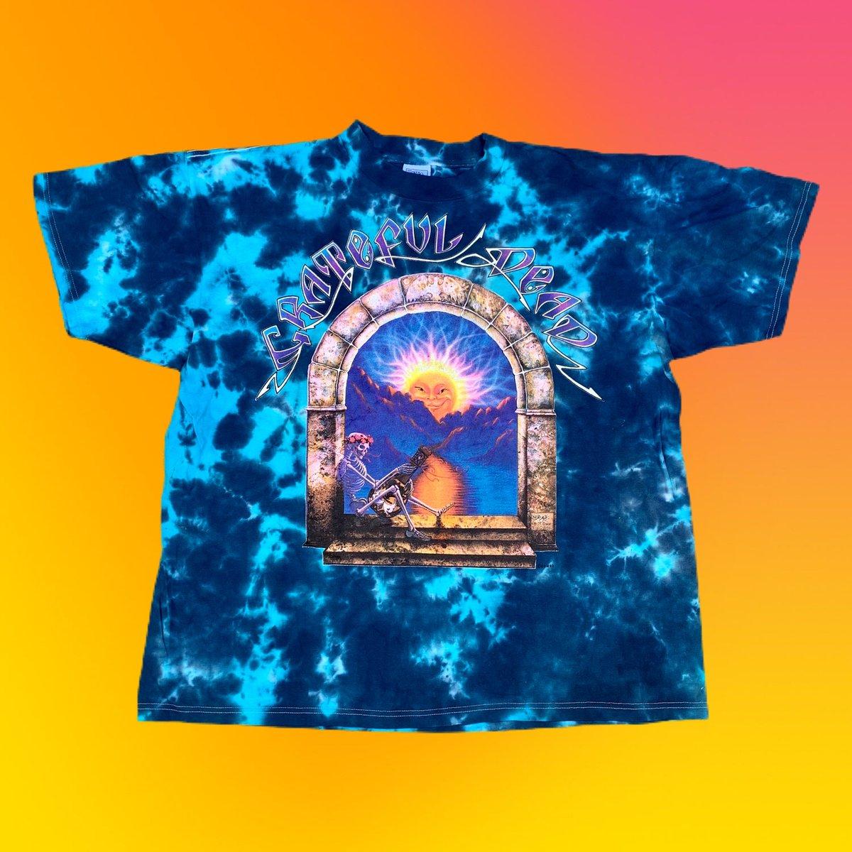 Original Vintage 1993 Grateful Dead Madison Square Garden Dye - XX-Large