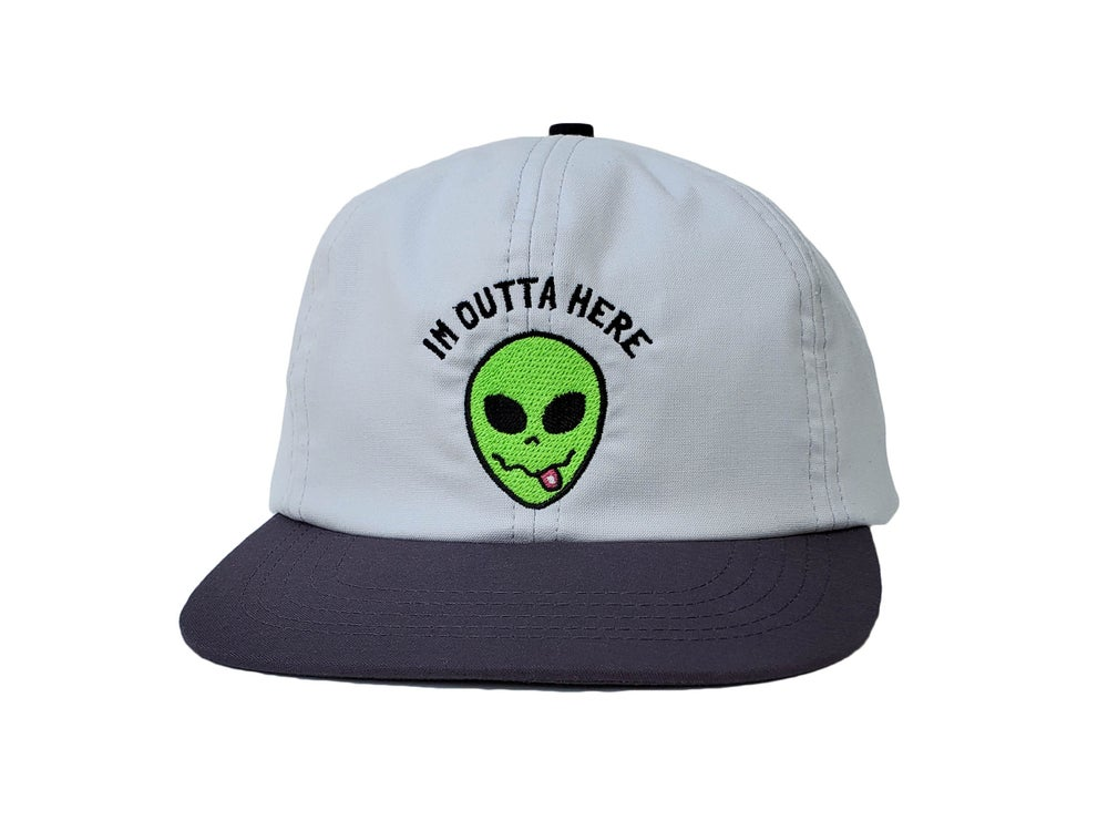 Image of I'm Outta Here 6 Panel (Grey)