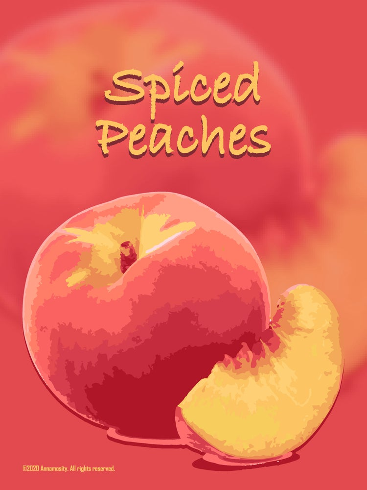 Image of Spiced Peaches