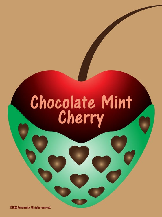 Image of Chocolate Mint Cherry - Lotion Bar