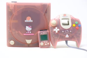 Image of Hello Kitty Pink Dreamcast