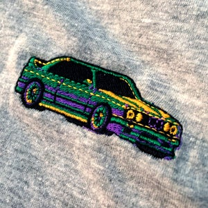 Image of Embroidered e30 T-Shirt - Royal