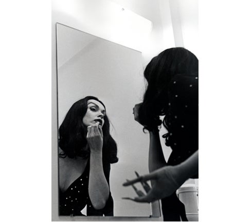 Image of VAMPIRA® Make Up Mirror 13x19 Poster