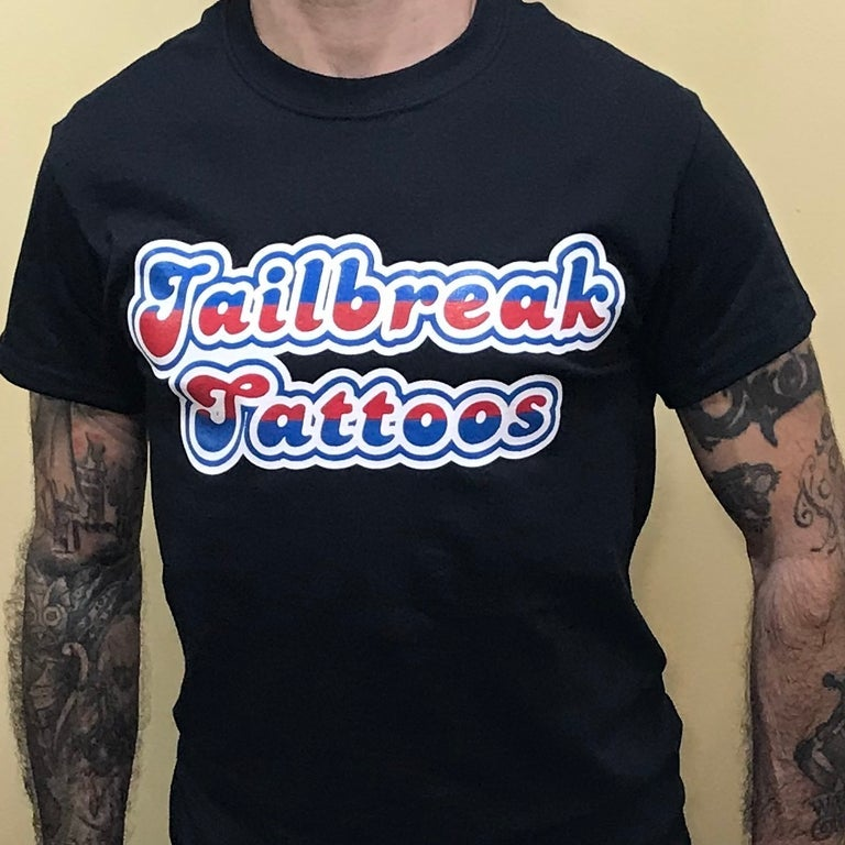 Image of Jailbreak tattoos Fu-Summer T-Shirt size Large