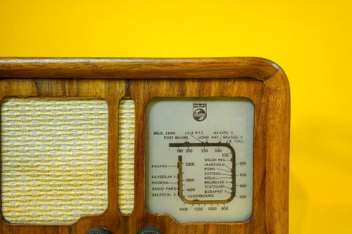 Image of PHILIPS 109U (1940) RADIO D'EPOCA BLUETOOTH