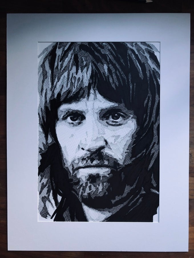 Image of Serge Limited Edition A3 Print