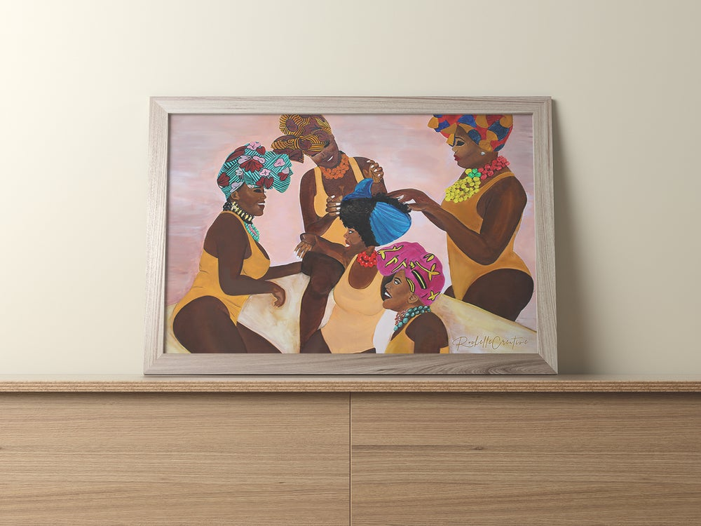 Image of Sisters Art Print