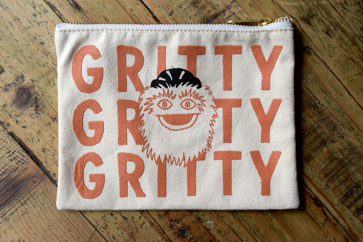 Gritty Zip Pouch