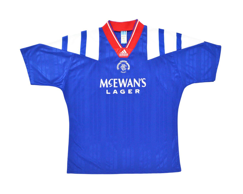 Image of 1992-94 Adidas Rangers Home Shirt XL