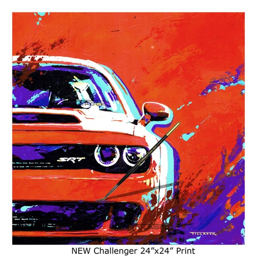 "Image of ""Challengers"" (Old or New)  24""x24"" Painting Print"
