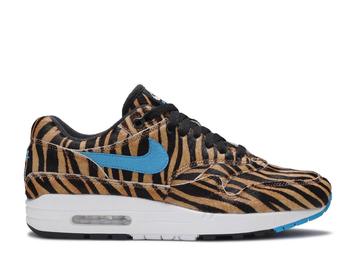 Image of ATMOS X AIR MAX 1 DLX 'ANIMAL PACK - TIGER'