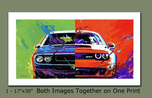 """Image of """"Challengers"""" (Old or New)  24""""x24"""" Painting Print"""